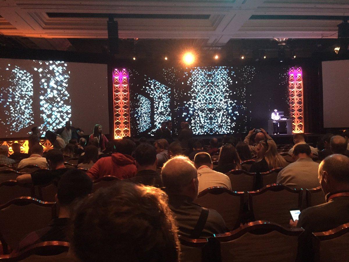 brettlcooper: Keynote time. #Magentoimagine https://t.co/KpO2vuZmbQ