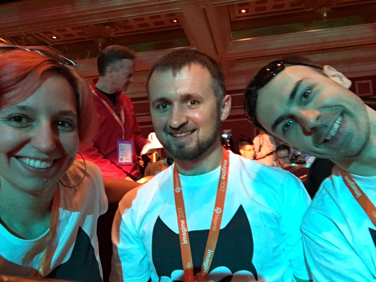 SnowdogApps: Ready for the big opening and first keynote? #MagentoImagine #SnowdogTour https://t.co/0dJG7LbXUb