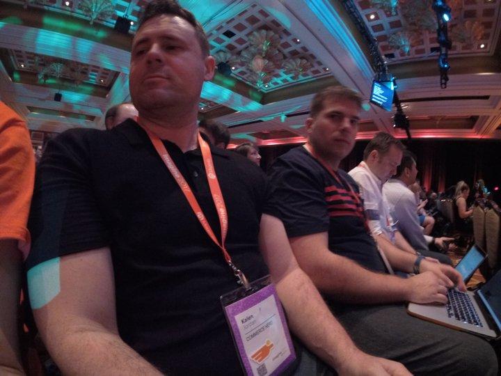 brentwpeterson: More front row shots #magentoimagine https://t.co/2jNd53tnSH