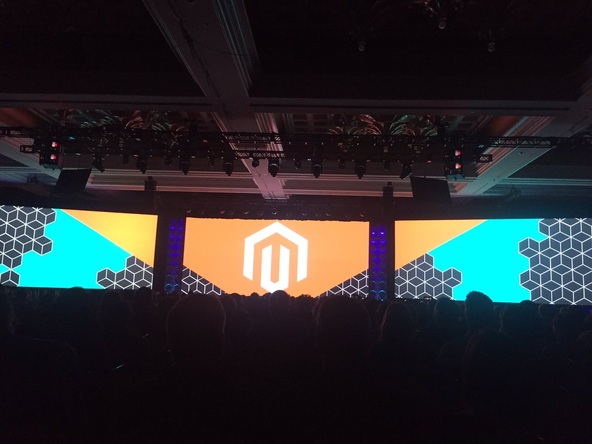 blueacorn: Here we go! Day 2 of #Magentoimagine kicking off with @JC_Climbs https://t.co/s0PBrqT4Aa