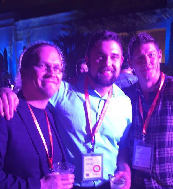 ShipperHQ: Waiting for the keynote to kickoff and I found this gem @Tiegur @toddfelix @DavidDeppner #Magentoimagine https://t.co/ledL0u6jXo