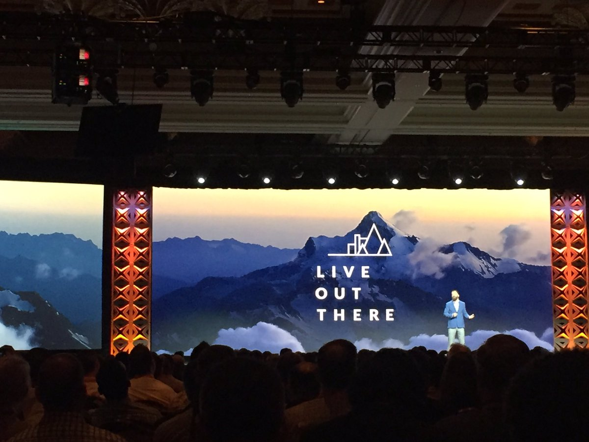 vrann: Keynote starts with this great message #MagentoImagine https://t.co/OHS22L2XUL