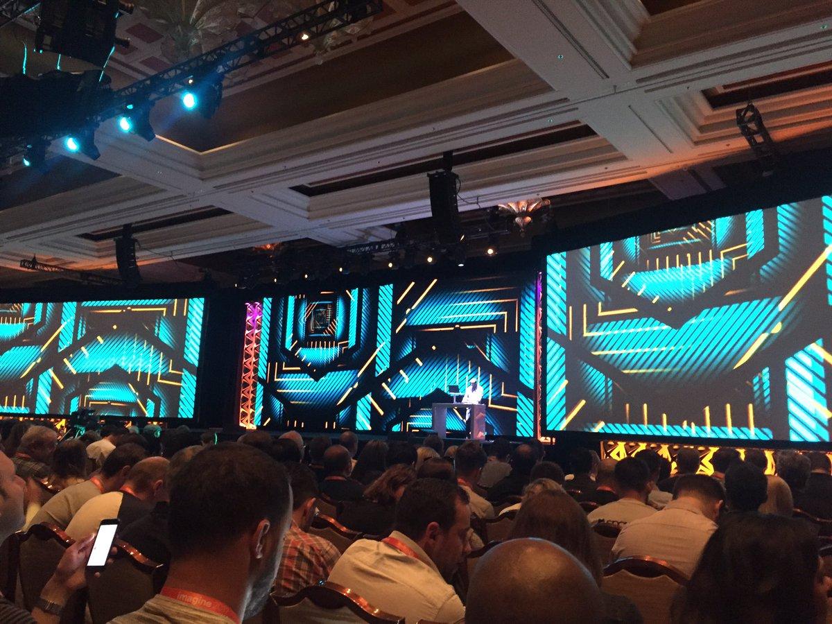 MaximBaybakov: General session & keynotes I are about to start Imagine2017 #MagentoImagine @PayPalAU https://t.co/34yxtoJEez