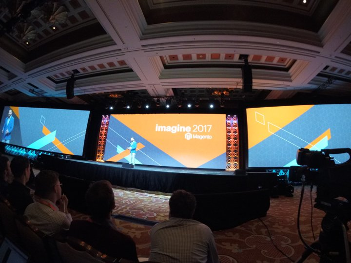 brentwpeterson: Jamie is keeping it real #magentoimagine https://t.co/b1cEsOZj53
