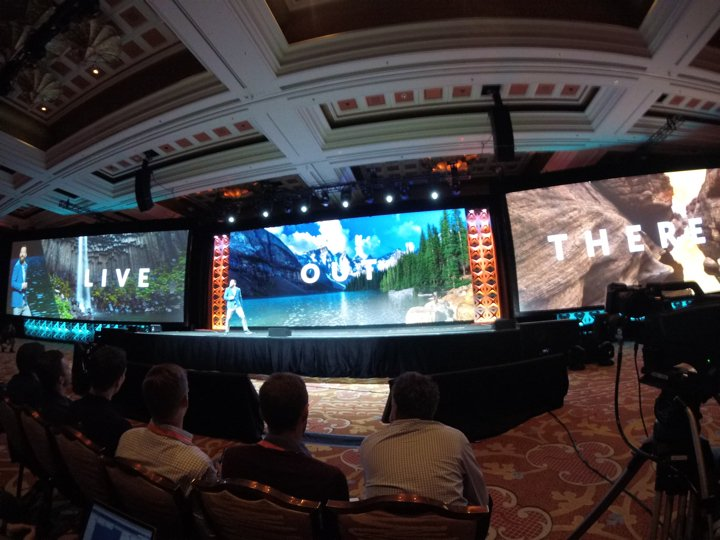 brentwpeterson: Live out there with @jc_climbs #magentoimagine https://t.co/NAm01h2kOw
