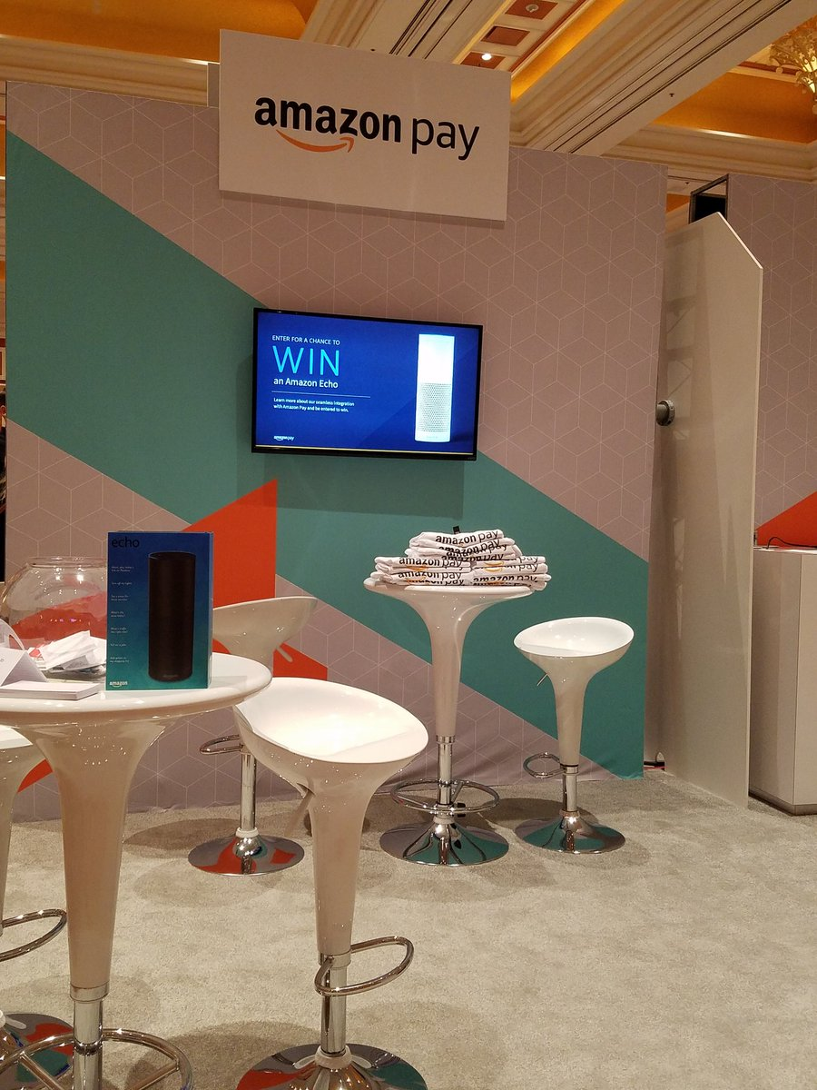 amazonpay: Day two at #Magentoimagine. Come by the @amazonpay booth 108 and learn about our @magento integration. https://t.co/0dCffSaeZX