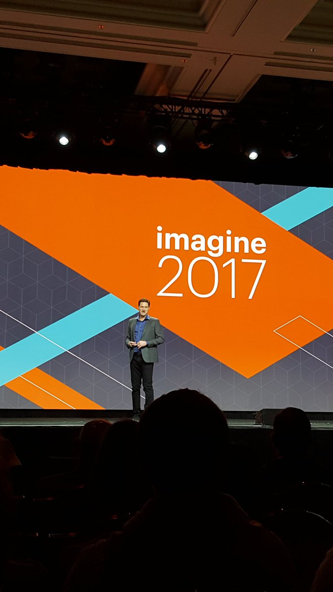D_n_D: [Magento Imagine] #Magento CEO Mark Lavelle on stage for the opening Keynote #Magentoimagine #realmagento https://t.co/C8SUaG0nbK