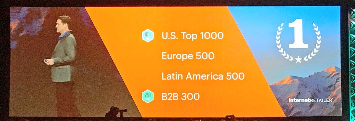 ignacioriesco: We are the best commerce platform. #Magentoimagine @mklave1 https://t.co/0oquvsoaQd