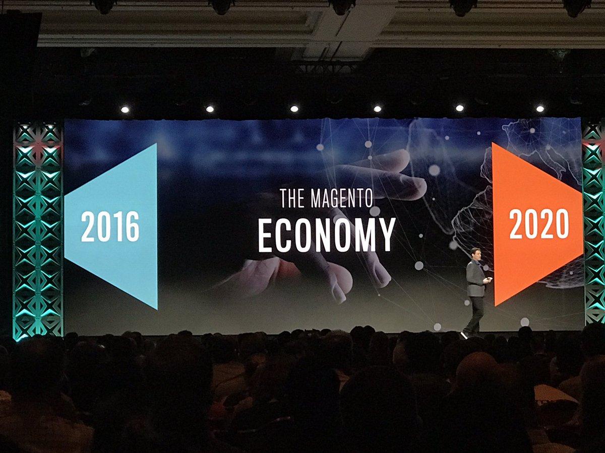 ignacioriesco: Magento Economy Figures #Magentoimagine @mklave1 https://t.co/NwtnMhaAai