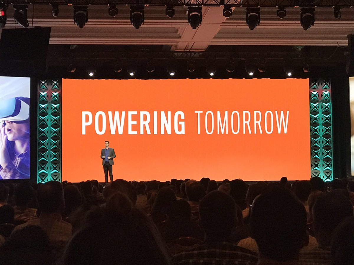 ignacioriesco: Empowering Tomorrow #MagentoImagine 50% of revenues impacted by digital. @mklave1 #digitaltransformation https://t.co/YceIGQ6dh5