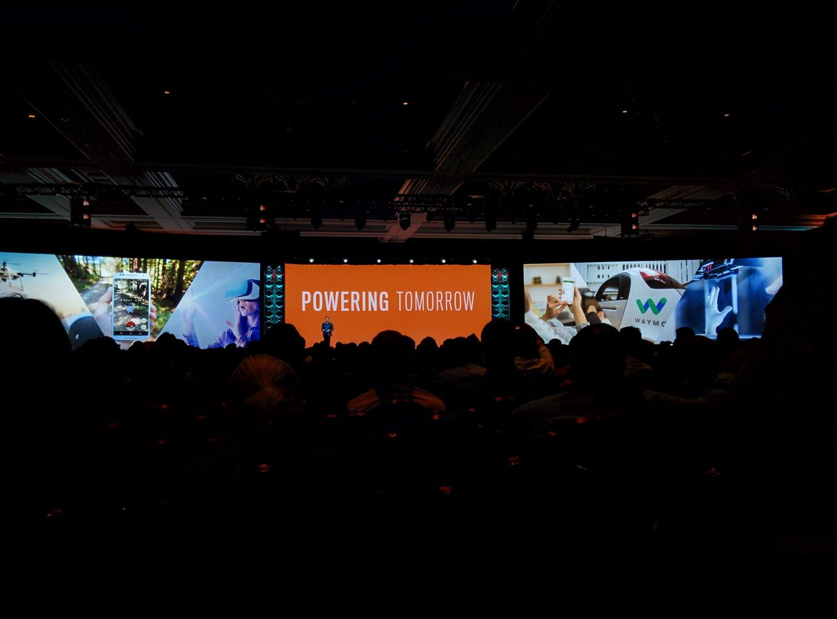 aleron75: Powering tomorrow with @mklave1 on stage at #MagentoImagine https://t.co/lNom7lABew