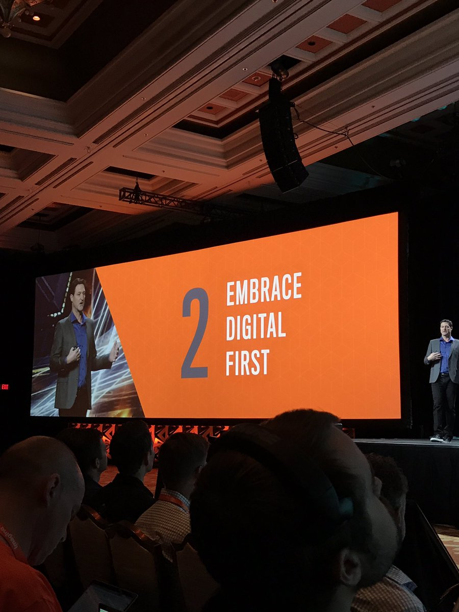 Creatuity: Commerce is now digital first. To be successful, embrace digital in all of your decisions. @mklave1 #Magentoimagine https://t.co/TU64p1ofSn