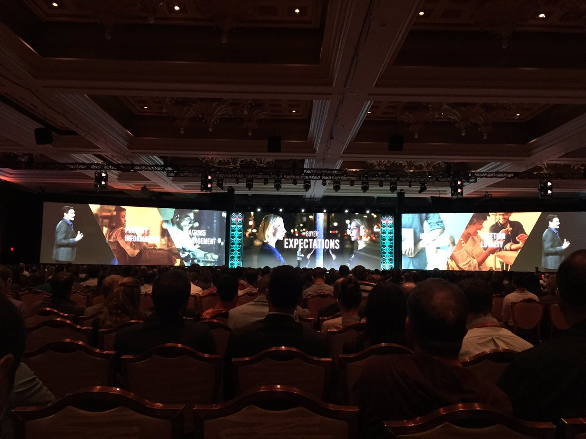 magento_rich: Shoppers are more empowered and have high expectations. #MagentoImagine https://t.co/cBjE4AUDl2