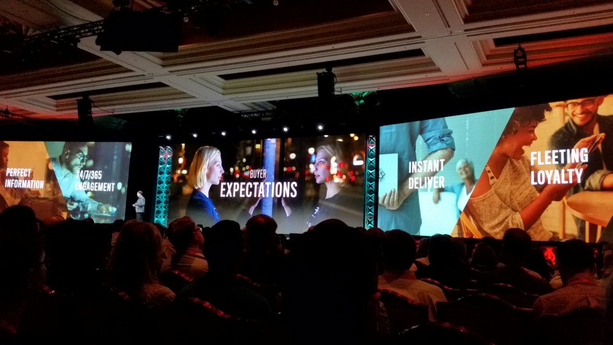 tig_nl: Inspiring talk at keynote #imagine2017 #Magentoimagine  What do buyers expect.. https://t.co/BE05mVRSO5