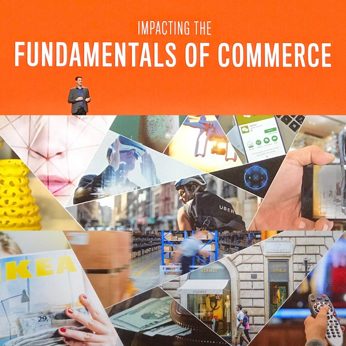 ignacioriesco: Impacting the fundamentals of commerce #magentoimagine @mklave1 https://t.co/k7f0eu1Yl4