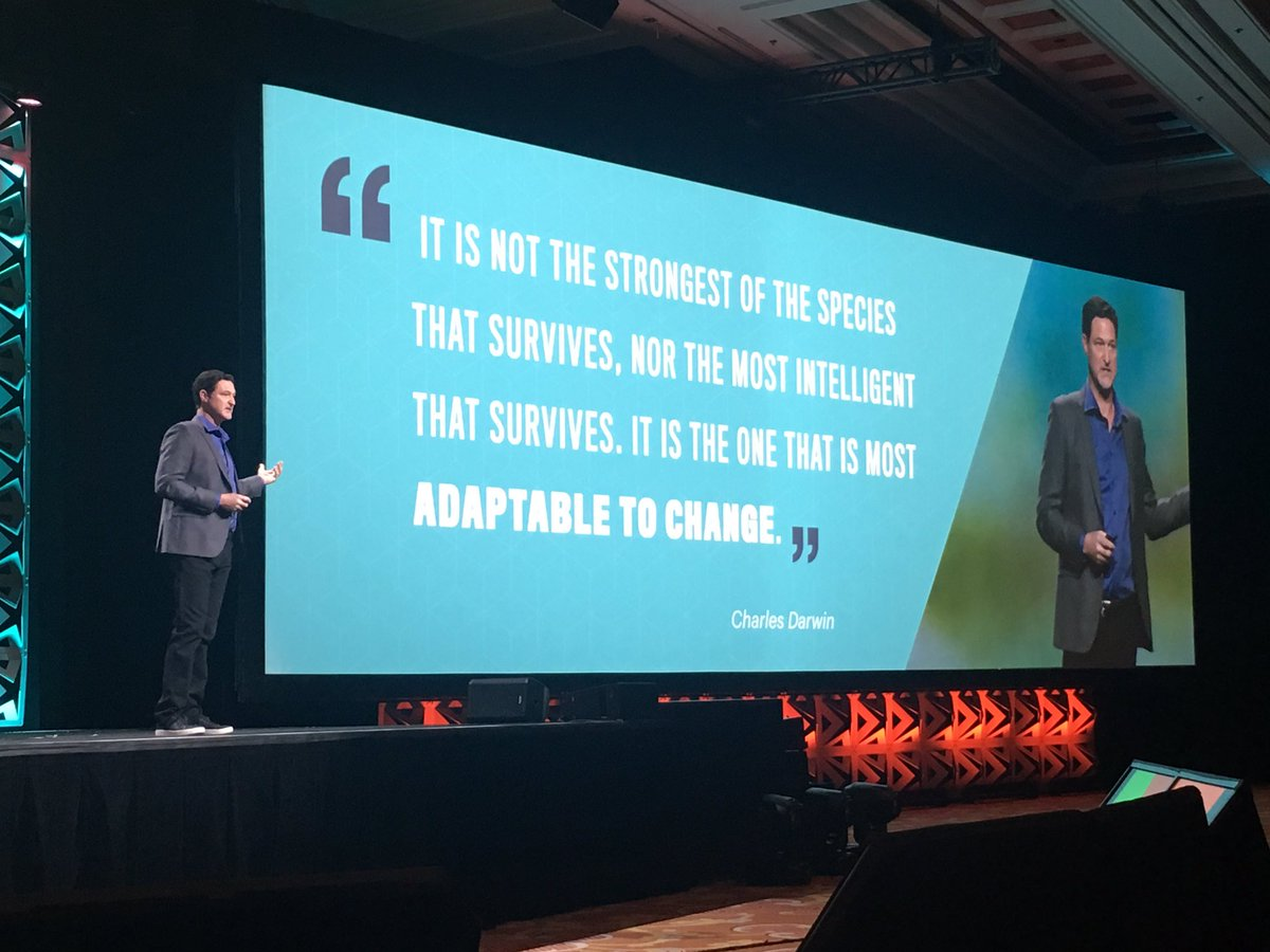 AmandaF_Batista: Adaptation a core component of driving success! @mklave1 #Magentoimagine https://t.co/IX0lo5eiwI