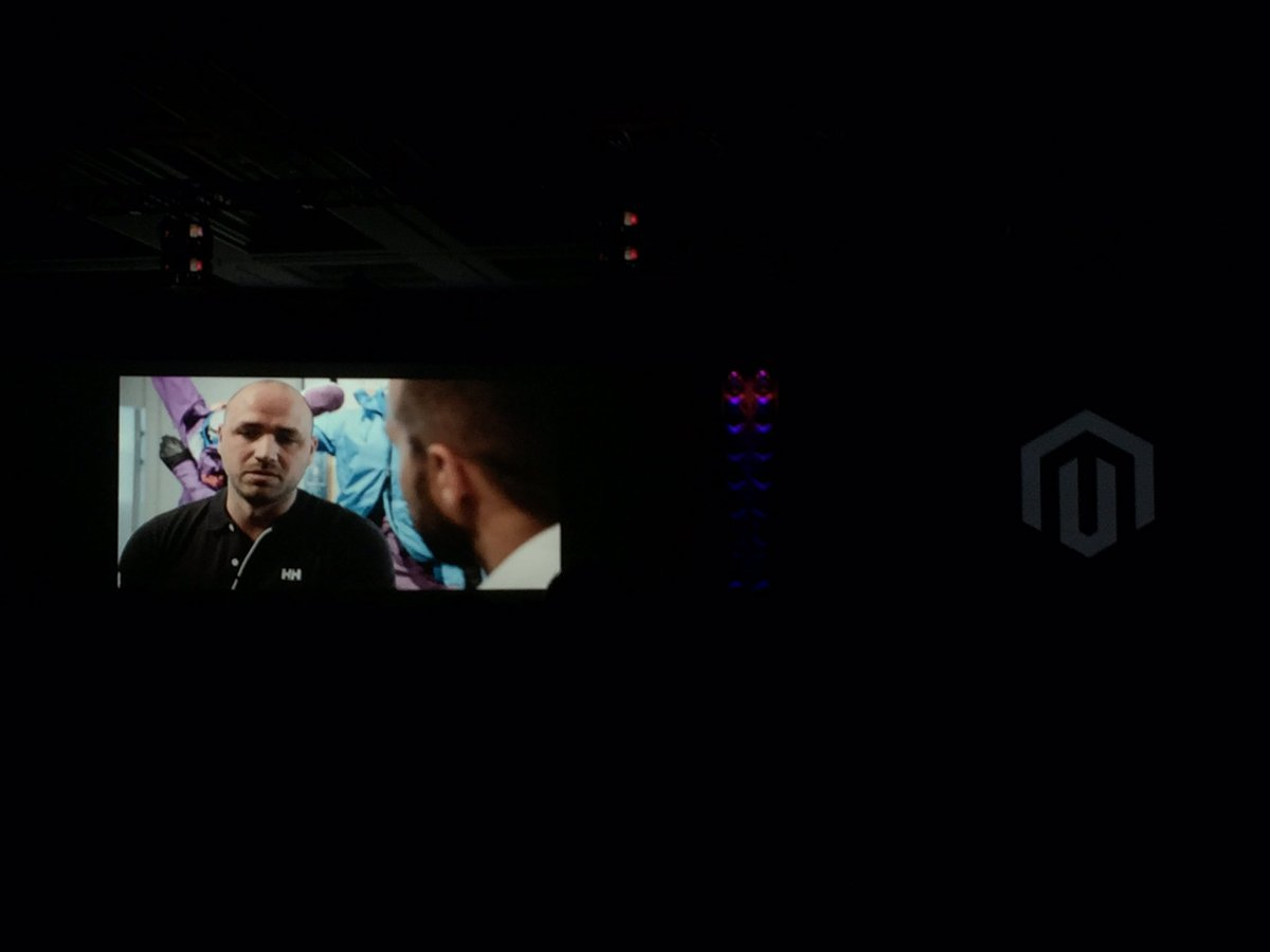 magento_rich: The @HellyHansen story, site built on @magento ECE. @vaimoglobal @PayPal  #MagentoImagine https://t.co/FPVQJkPhl9