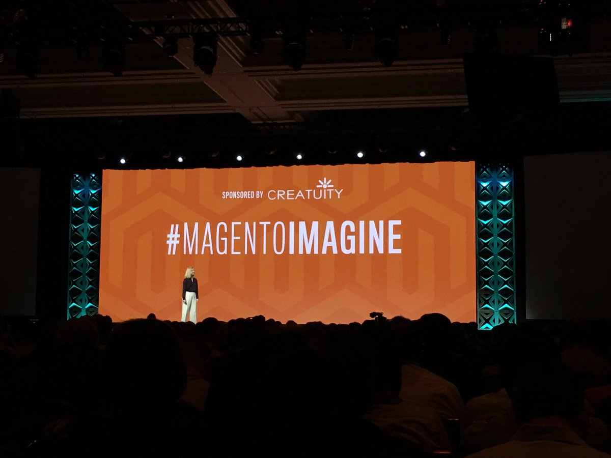 ebizmarts: Don't forget to hashtag your photos with #Magentoimagine to get featured in the @Creatuity wall! https://t.co/9vXw58my4W