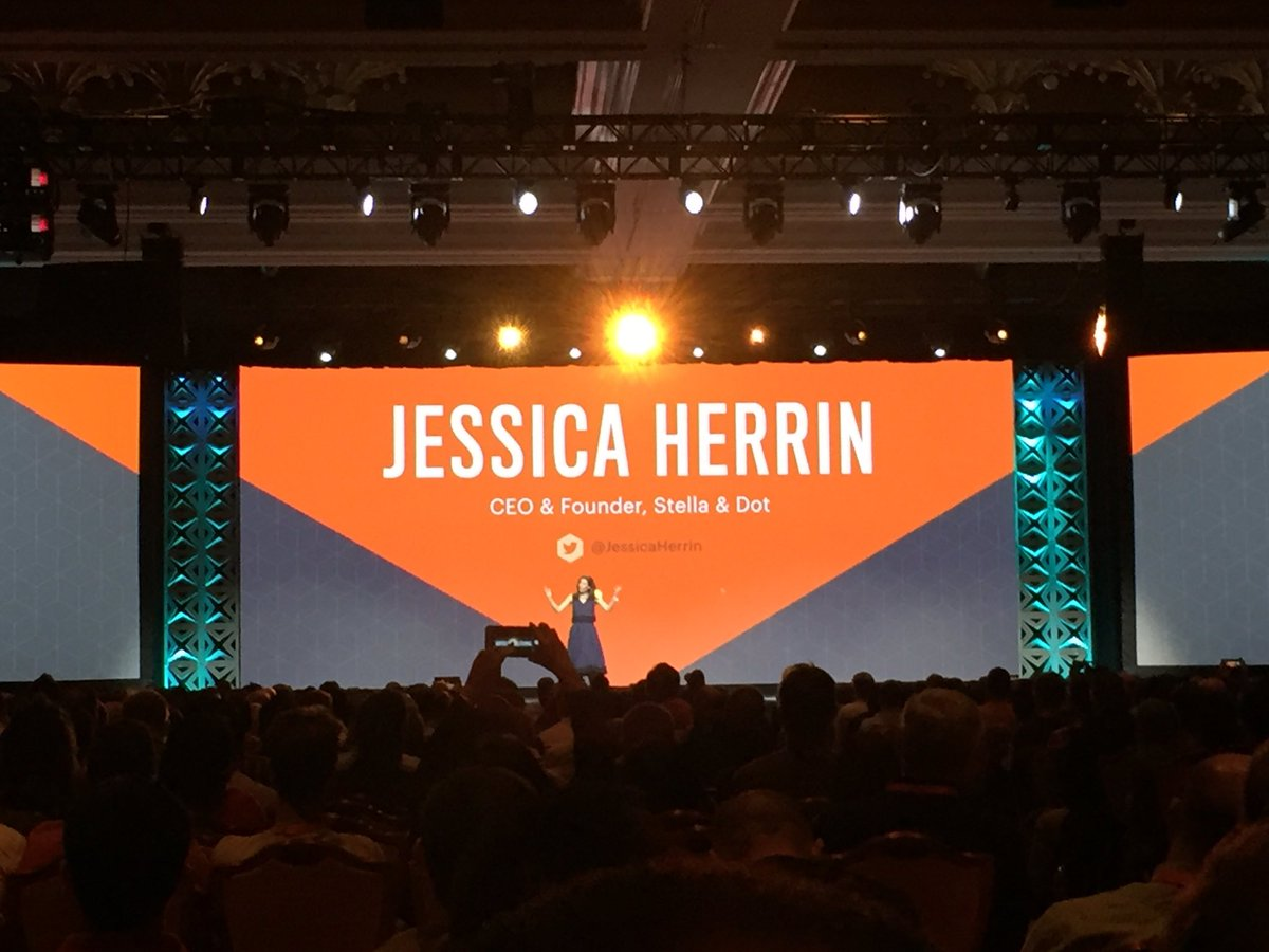 magento_rich: .@JessicaHerrin from @stelladot on stage talks about #Entrepreneurship #MagentoImagine https://t.co/vlbWF8Vinw