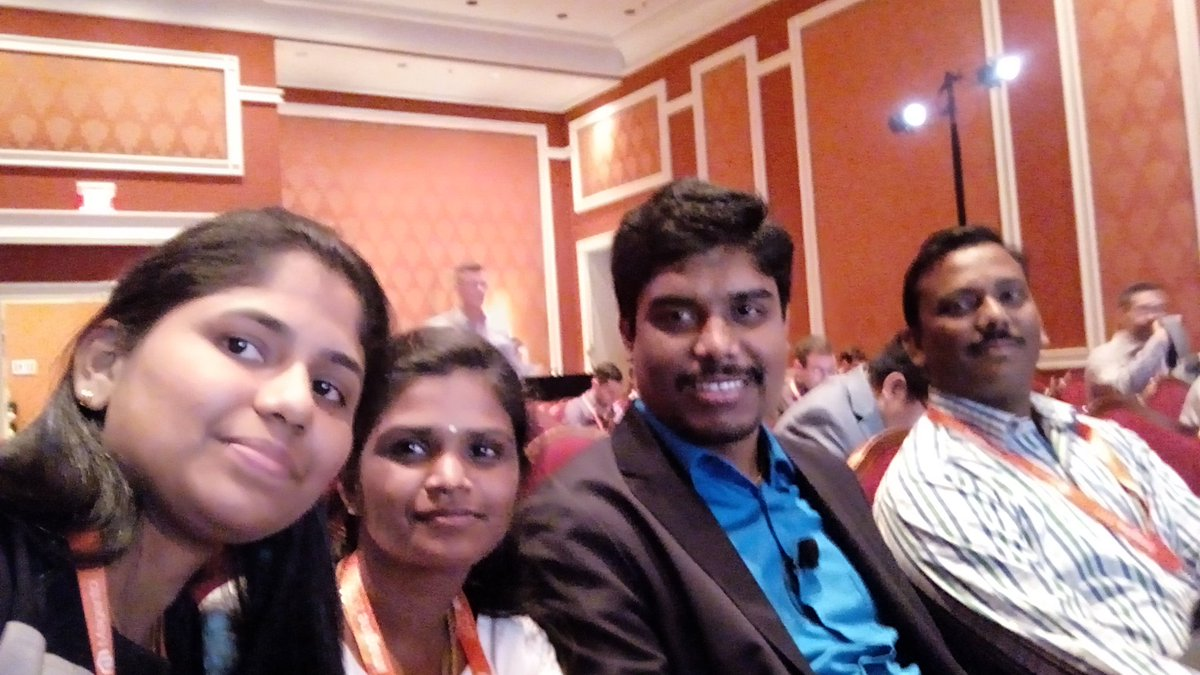 jeyakiruthika: A small selfie with our solution specialist before his session... Glad to be attend! #Magentoimagine @DCKAP https://t.co/UnvWxzf1GS