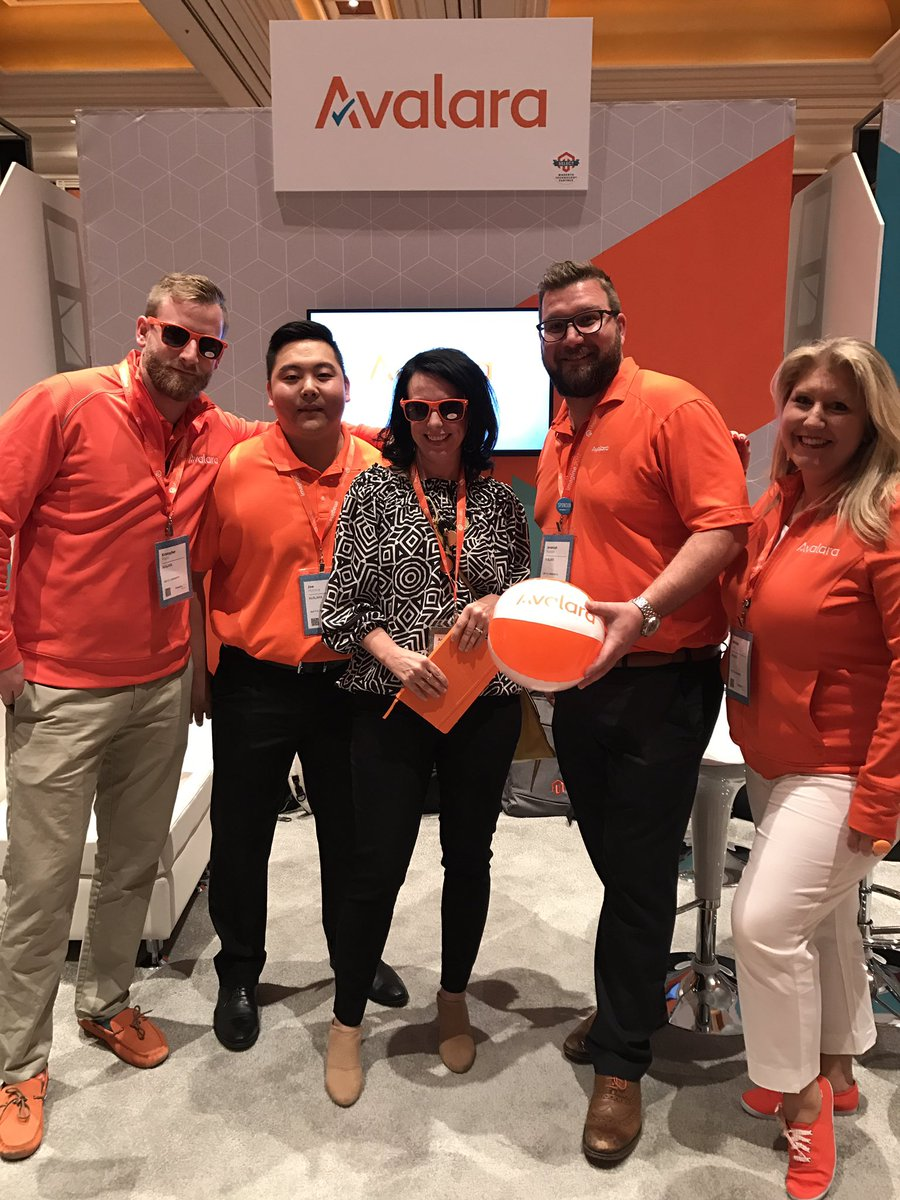 AmieeK_PMM: Another happy @avalara customer at #MagentoImagine! Come stop by booth 208! #donttakeagamblewithsalestax https://t.co/FnMnoCVaTl