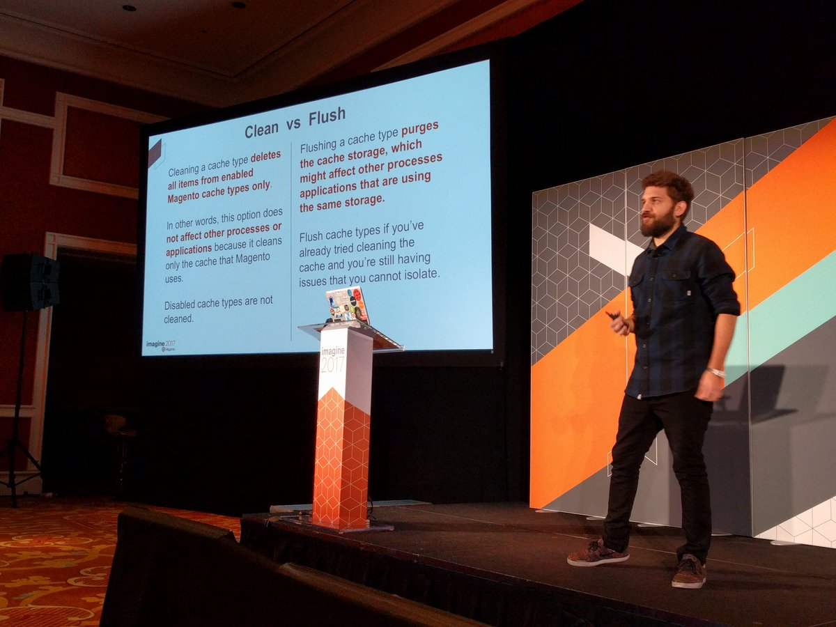 barbanet: Cache vs flush by @mbalparda at #Magentoimagine https://t.co/As8OCZ2yw3