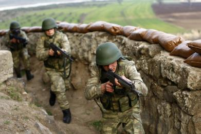 Turkey's Erdogan vows 'black winter for terrorists' in new Syria operations