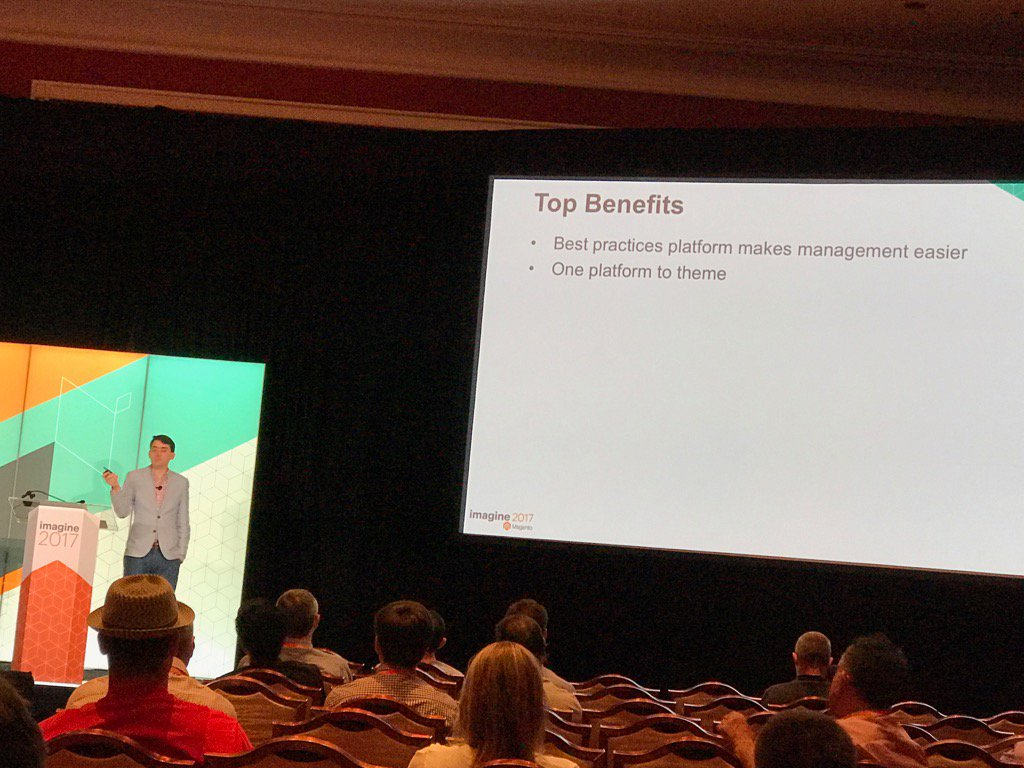 JamesZetlen: Headless M2 bc theme work from one platform isn't reusable in the other. (Maybe we can fix this?) #Magentoimagine https://t.co/EJeF0zJUTu