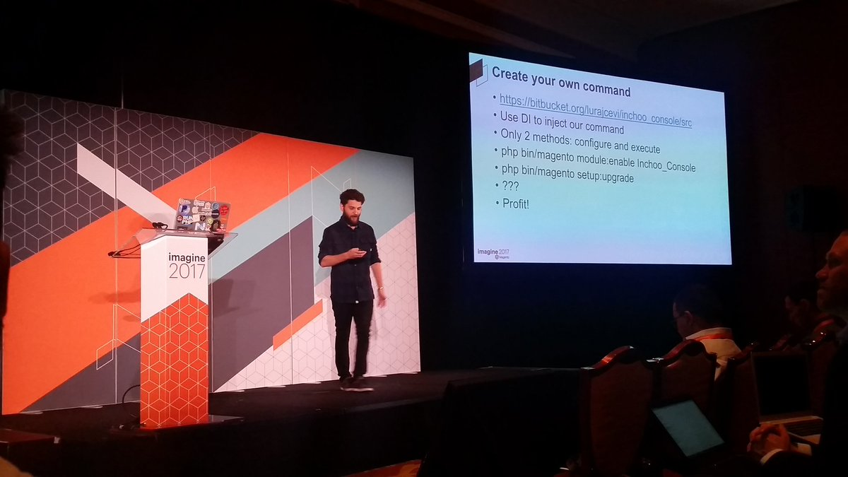 mzeis: Kudos to @Inchoo for their Magento 2 CLI example module by @mbalparda #MagentoImagine https://t.co/mKxu0gxgdP
