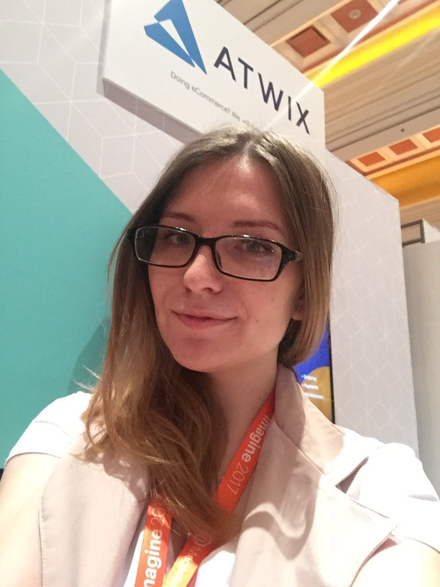 tory_bum: Meet me at the booth 👯let's chat 😉#MagentoImagine #atwix https://t.co/Ezv3R4rIZW