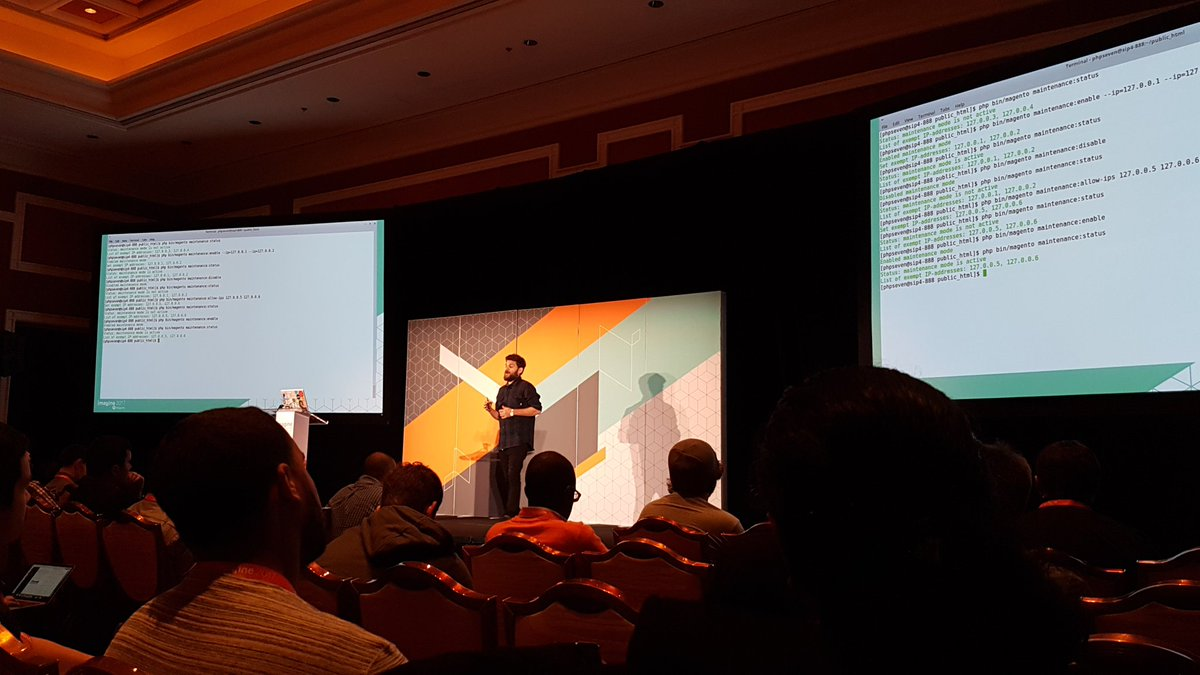 denisristic: Quote by @mbalparda Never ever give ssh access to frontend developers :) #Magentoimagine https://t.co/gRA4SigYQ7