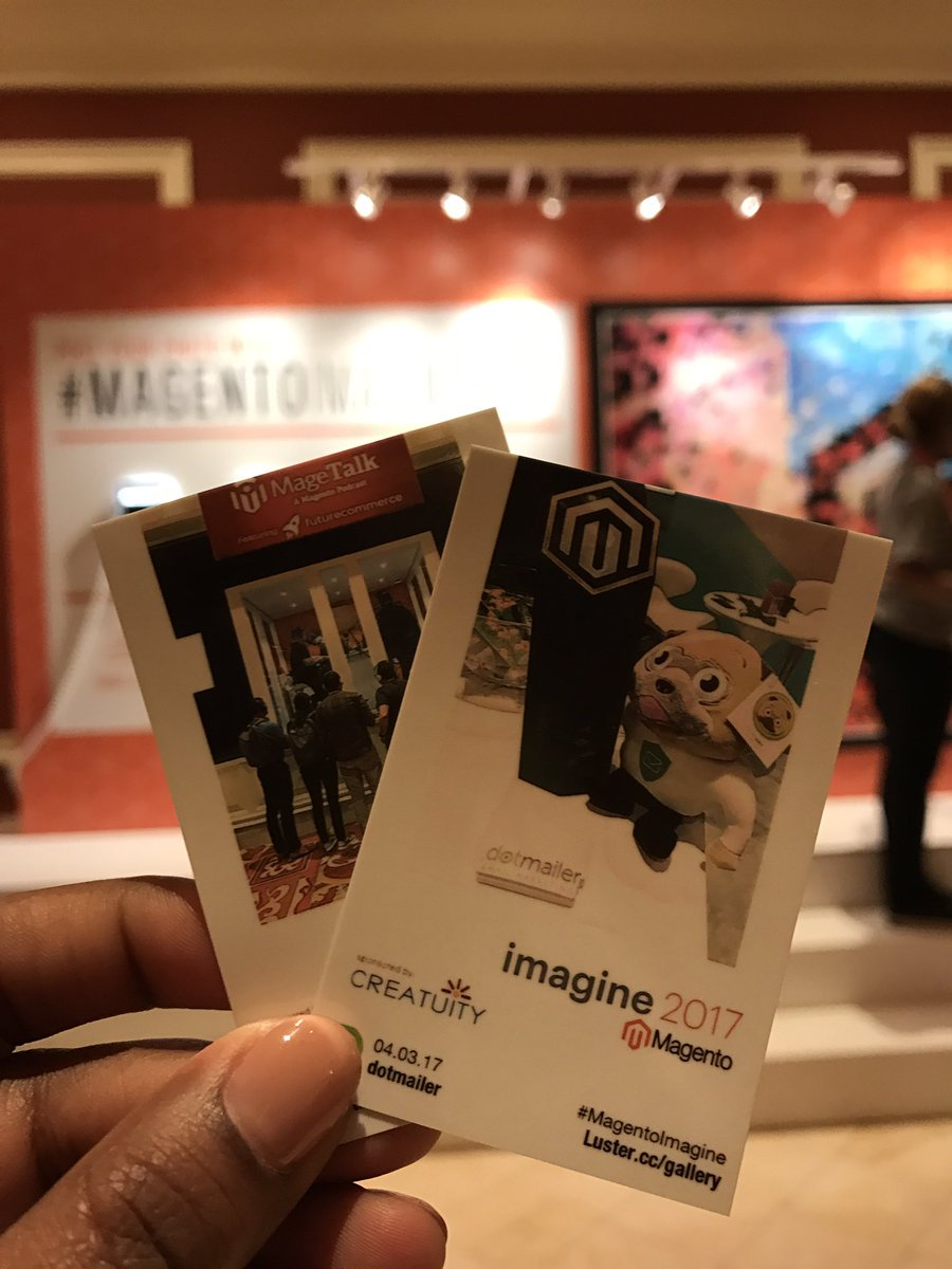 dotmailer: Loving the @Magento #mosaic that's coming together sponsored by @Creatuity #MagentoImagine https://t.co/e7cxVwz6iB