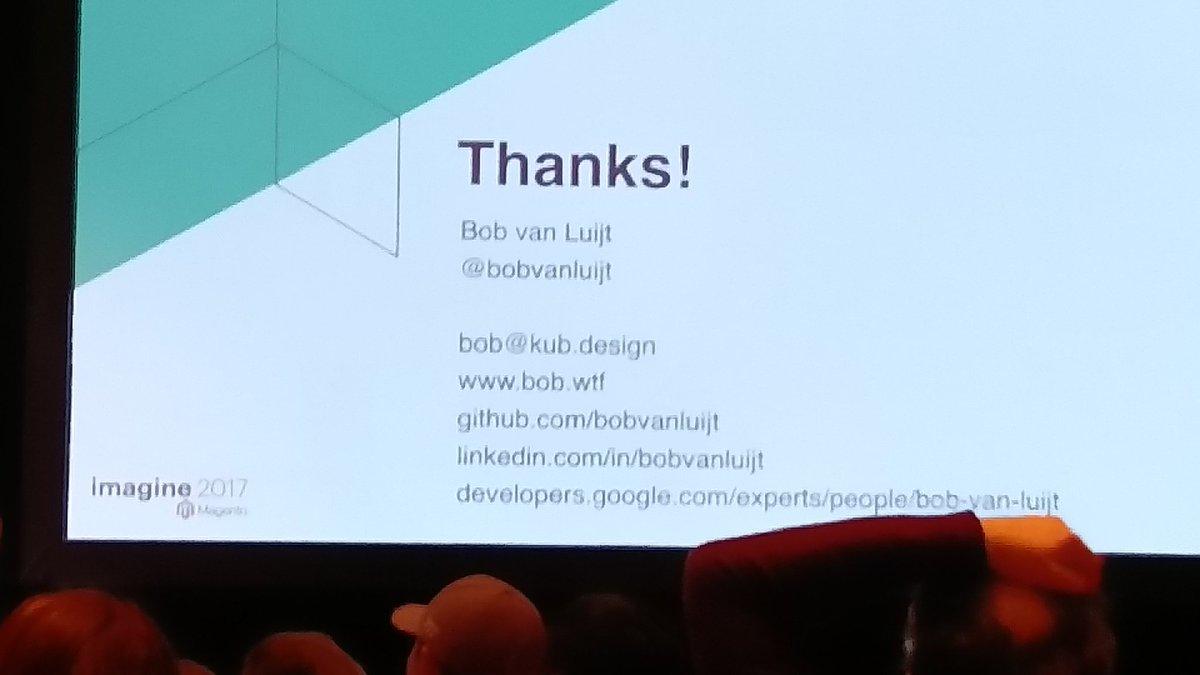 Igloczek: Best TLD award goes to @bobvanluijt 😂 #imagine2017 #Magentoimagine https://t.co/E5l7HYykj9