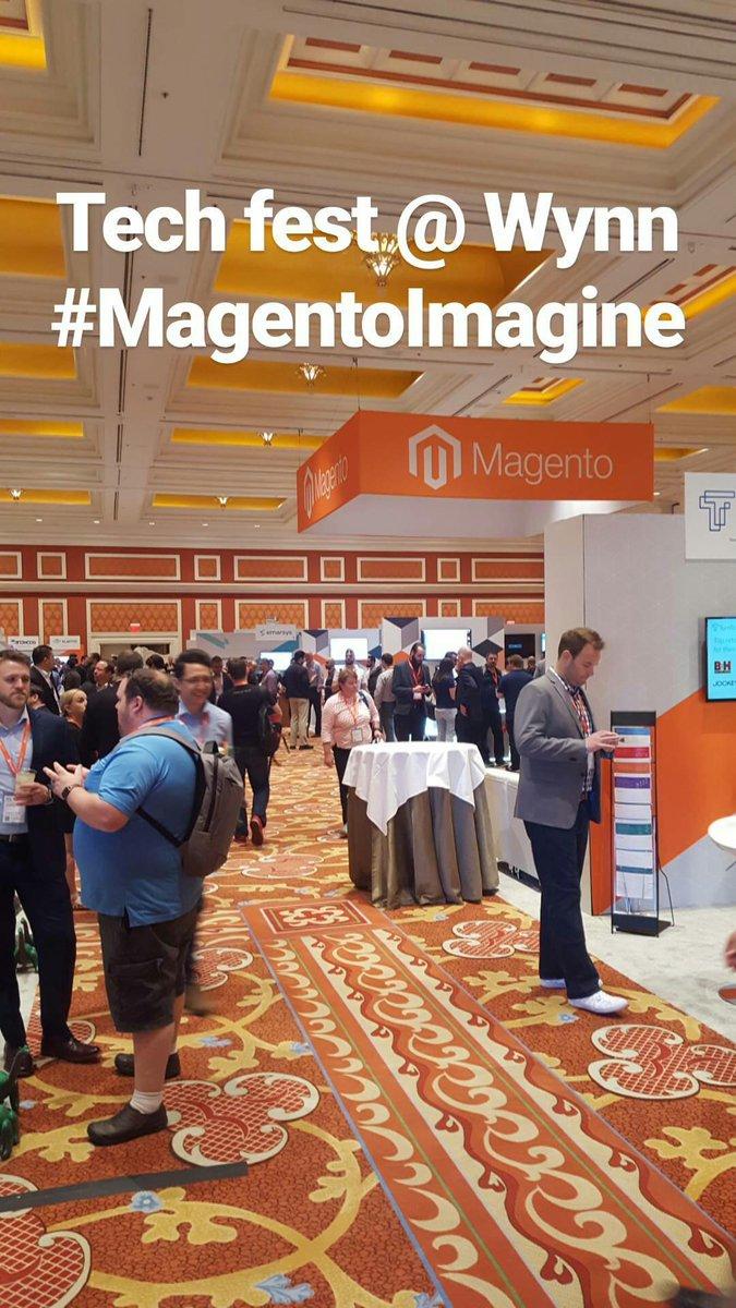 elatlboy: #MagentoImagine Day #2 at @WynnLasVegas #Magento #techie https://t.co/USQfI2WQMD