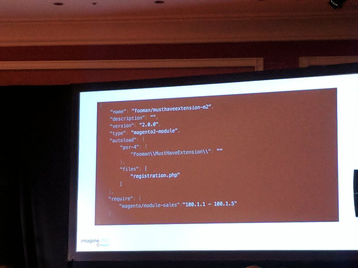 sashas777: Here is how your composer.json file may look like. By @foomanNZ . #Magentoimagine #magentoimagine2017 https://t.co/SO4dSn1Tmh