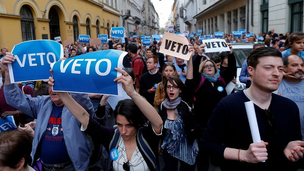 Hungary's parliament passes controversial bill targeting Soros-founded university
