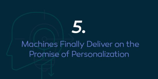 Emarsys: Prediction number 5 at #MagentoImagine: #Personalization, with help from our friends, the machines. Thoughts? https://t.co/ZkYlENvLba