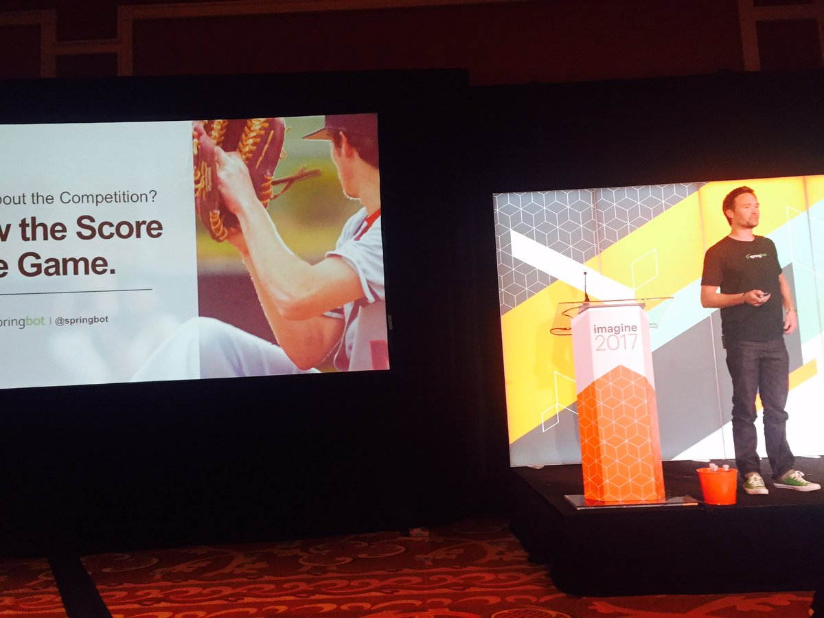 springbot: Hold onto your casino chips - @joereger about to talk about #bigdata for #ecommerce #Magentoimagine https://t.co/oWWDo2QSZw