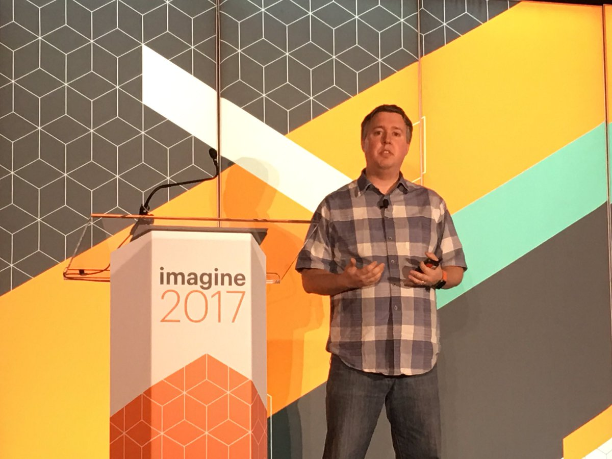 briggsbrandon: Great content by @JoshuaSWarren and @Creatuity on bringing a 100 year old brand online. #Magentoimagine https://t.co/6B1HM8iYv7