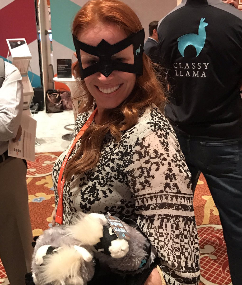 classyllama: Amy from @magento has been recruited as our newest #superllama at #Magentoimagine https://t.co/dcc2qU66Xf