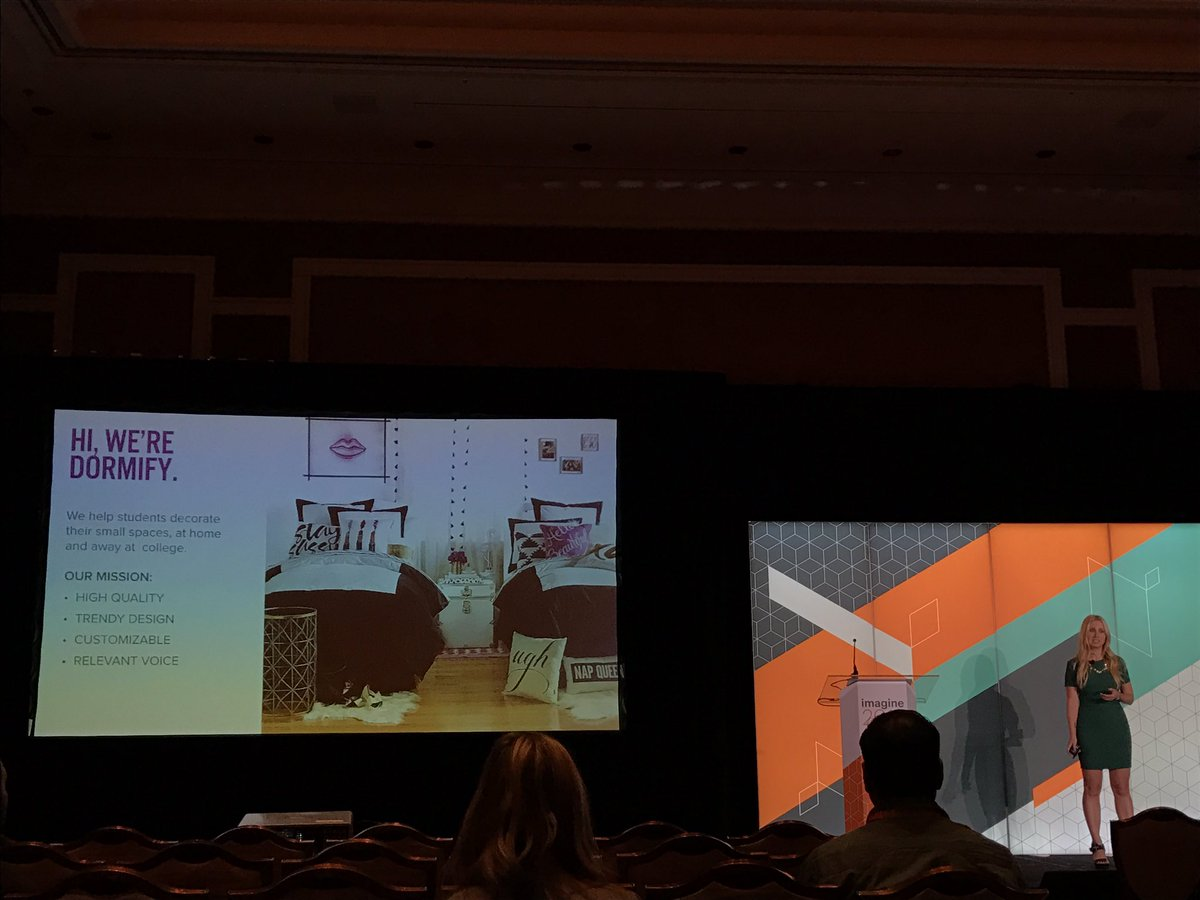 dotmailer: COO of @dormify, @nicolemgardner shares tips on producing rich content @zmags #MagentoImagine https://t.co/rfbouCG3aU