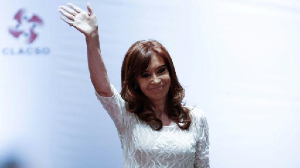Argentina ex-leader Kirchner charged with fraud