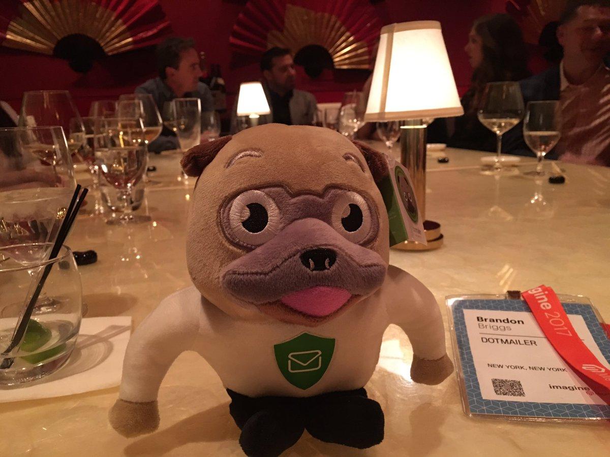 dotmailer: Enjoying dinner with partner @guidance at #Magentoimagine - #dotwatchdog https://t.co/K1kzAsuyjA