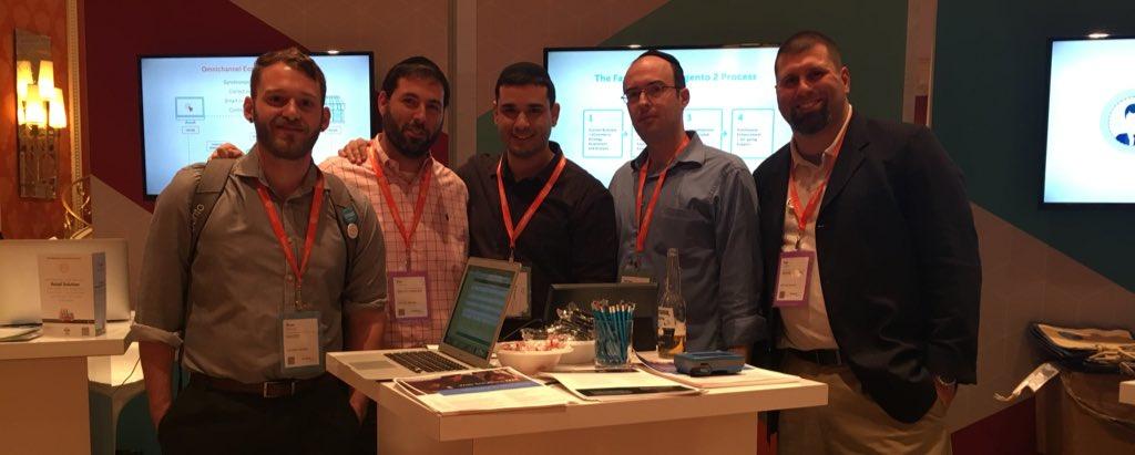 websolutionsnyc: .@nexcess @worldofwatches The ten day total M2 launch dream team. Thanks @nexcess! #MagentoImagine https://t.co/NYQ173VTe3