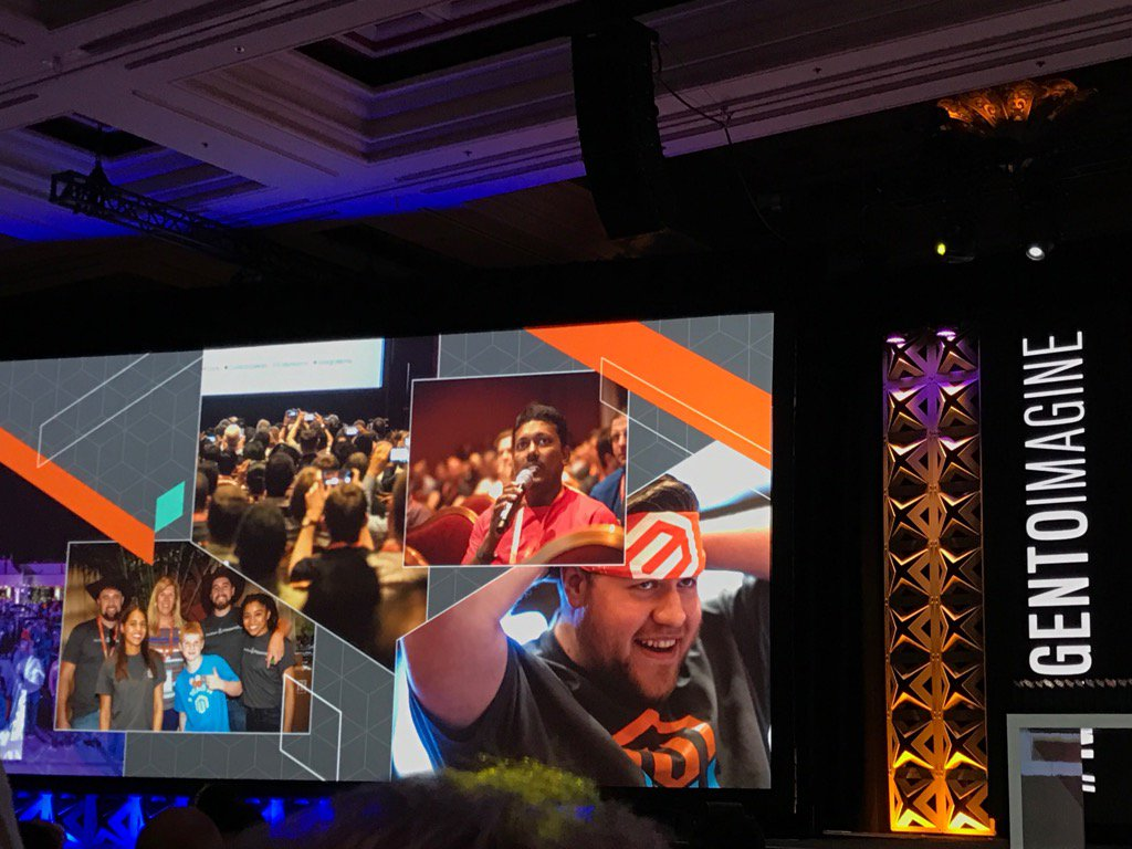 chatwithKC: Thank you for the photo capture #Magentoimagine https://t.co/aGEuxEIy4Z