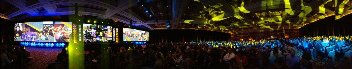 maja_kern: Panorama view of keynote 2 in #Magentoimagine https://t.co/r1rAJgXq3W