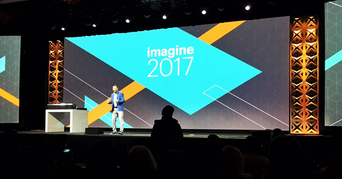 OlenaSadoma: Does @JC_Climbs ever walk out slowly on stage? #MagentoImagine https://t.co/7S4ksNSwfm