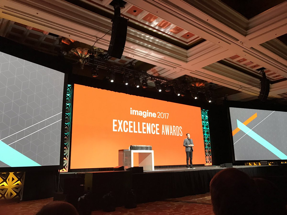 brentwpeterson: The excellence awards go to 11 #Magentoimagine https://t.co/wCS8ki9XzV