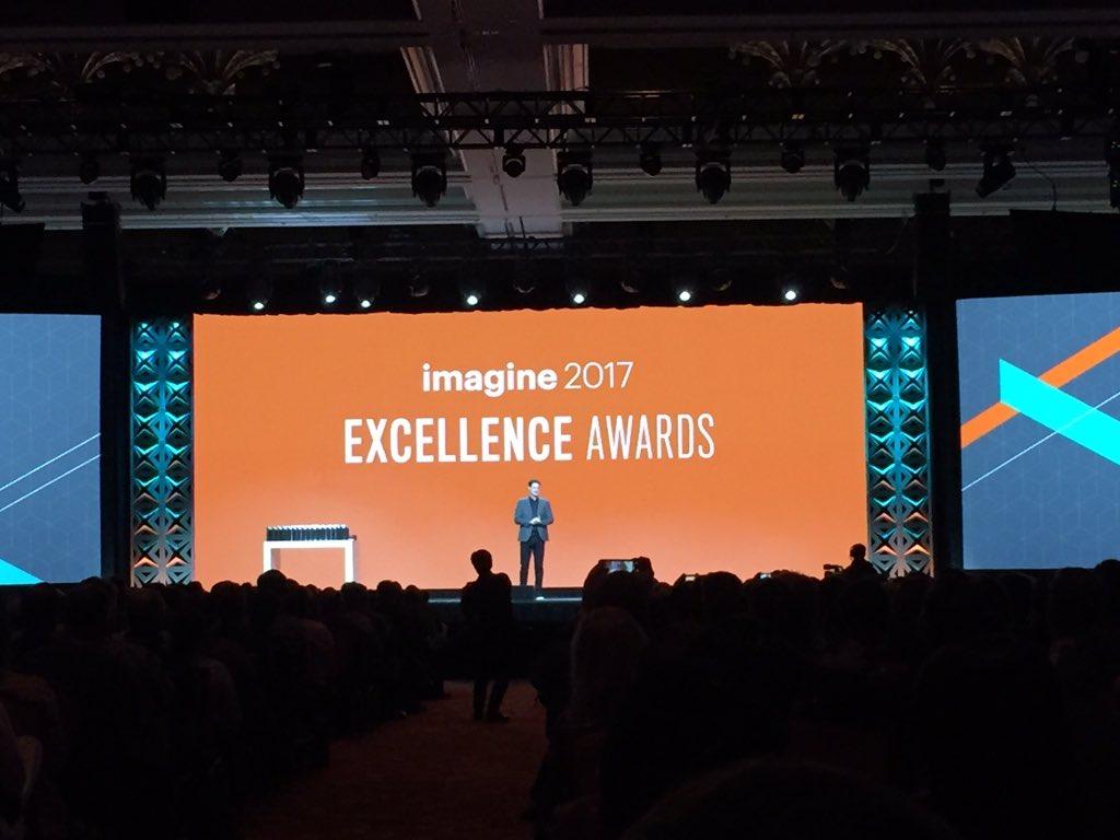 magento_rich: #MagentoImagine Excellence Awards about to start. https://t.co/jlcODnspUb