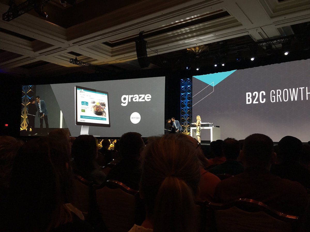 CommerceJohn: Well done @Inviqa for your B2C growth award at #MagentoImagine https://t.co/8KEb4H4v7s